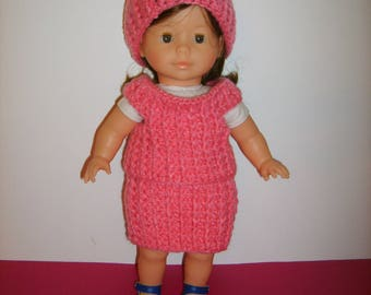 Set crocheted doll 36cm