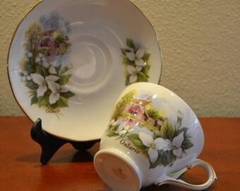 Vintage Duchess Ontario Tea Cup Fine Bone China