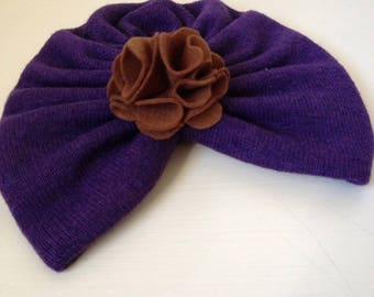 Turban hat for baby girl/girl/woman-modern and chic accessory