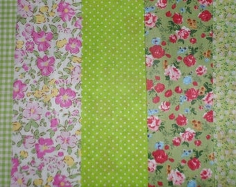 "set of 5 cut 20 x 25 ""summer"" collection"