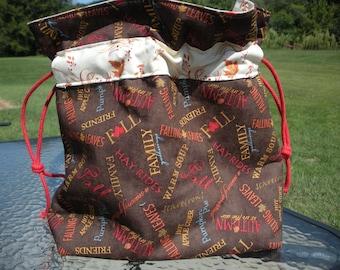 Fall Fun Project Bag