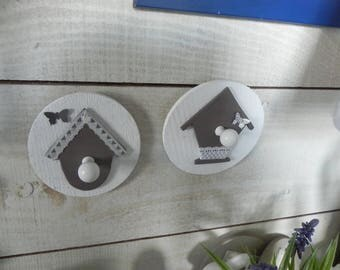 Hooks or wall decorations