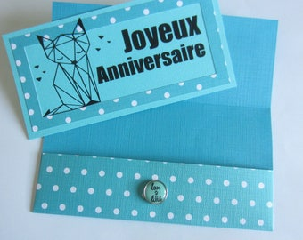 """Happy birthday"" card (Customize)"