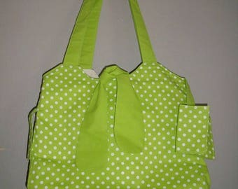 Green handbag small