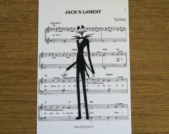 Jack Skellington 6x4 Print