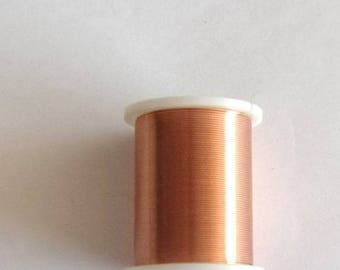 METAL wire coil - 0.25 diameter copper REF. 11