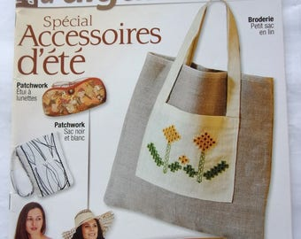 magazine works of NEEDLES - CROCHET - PATCHWORK - embroidery No. 24