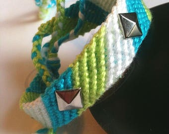 Friendship Bracelet model 1 with studs