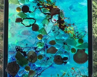 Mermaid in Scottish Sea Glass