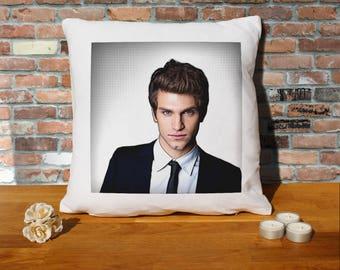 Keegan Allen Pillow Cushion - 16x16in - White