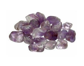 Stone rolled Amethyst 2-3cm - grade A