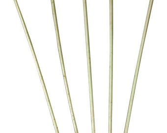 ES-0824 925 Solid Sterling Silver - Set of 5 Flat head Pins 30 mm