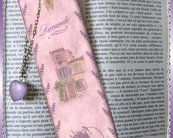 "Bookmarks laminated ""Beautiful Provence"", cheap gift idea"