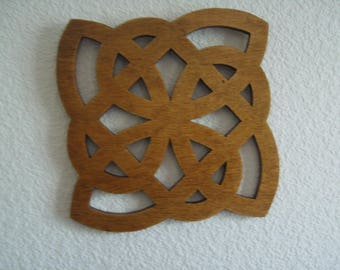 wall hanging or table trivet dish
