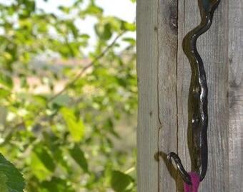 Leaf hook forged