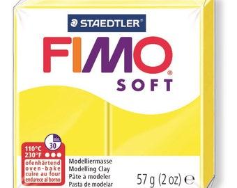 Fimo Soft 57 g - lemon N 10 - Ref 68020010