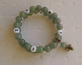 Green nursing bracelet
