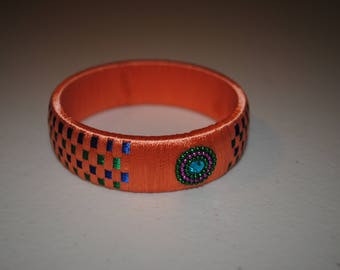 Handmade Silk Thread Bangle