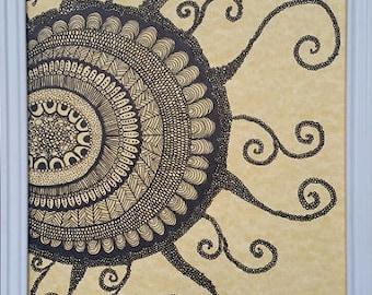 Amoeba is the DNA - Hand made