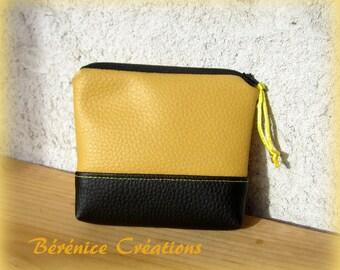 """Wallet """"joyful color"""" yellow"""