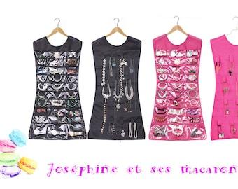 Pink 1 jewels dress display/storage