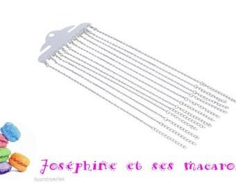 1 bracelet chain 20 cm + 5 cm extention