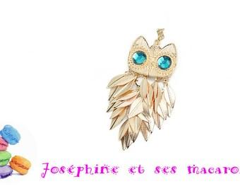 1 pendant OWL about 7 cm