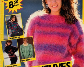 Knit Sandra adult and child 41 patterns catalog