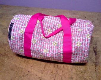 Pink watermelon print original gym bag.