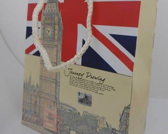 """""""Big Ben"""" motif gift bag"""