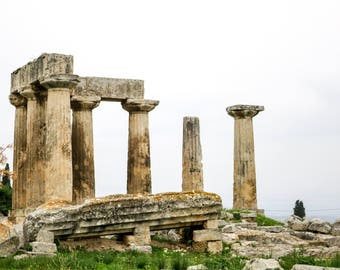 Pillars of Ancient Corinth