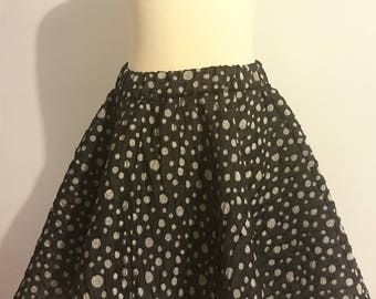 Ceremony 3/4 years with shiny dots girl skirt