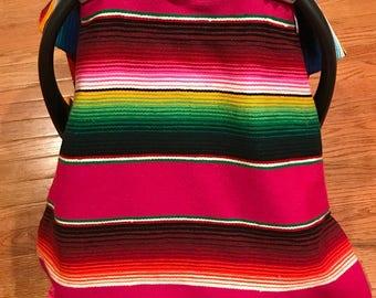 Sarape car seat cover