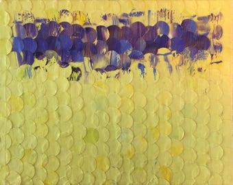 Purple on Yellow No. 1