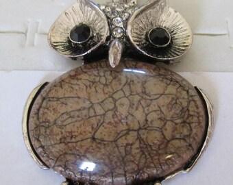"large pendant ""OWL"""