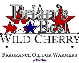 Wild Cherry Scented Incense or Fragrance Oil Formulated for Burners or Warmers - Premium Grade & Quality!
