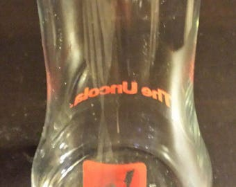 Vintage Collectible 1985 7Up The UnCola Upside-Down Glass