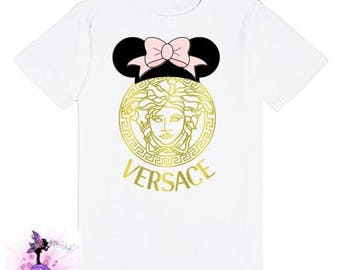Gold  Minnie Mouse T-shirt | Designer Inspired | Matching Family Shirts