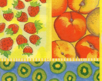212 1 towel paper 40 X 40 consolidated LES FRUITS