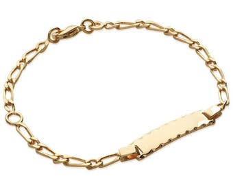 Plated mixed chain bracelet gold 16 cm / 63185816