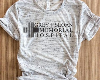 Grey Sloan Memorial Hospital Shirt,Grey Sloan Memorial Hospital Shirts,Grey's Anatomy Shirt,Meredith Grey,Derek Shepherd,Grey's Shirt,Greys