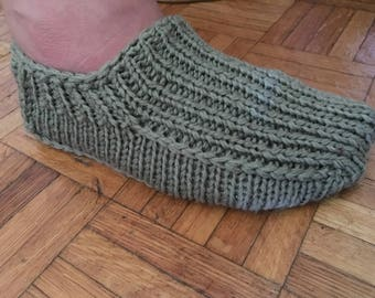 Knitted Slipers Womens , House Shoes , Slippers
