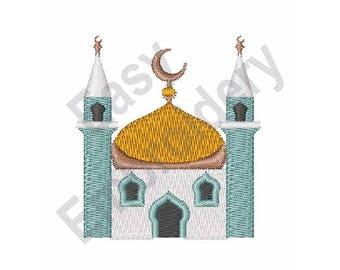 Mosque - Machine Embroidery Design