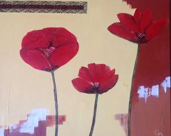 Poppy flowers! Freshness and Elegance!