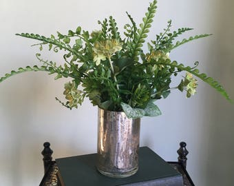 artificial greenery,fake plant,flower arrangement,dried flower bouquet,coworker gift,xmas gift for wife,gift for coworker,gift for mom,