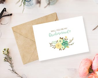 Will you be my (bridesmaid, maid of honor, matron of honor) Card