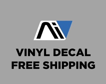 Andromeda Initiative Vinyl decal - Mass Effect Andromeda Inspired high quality sticker - AI Logo