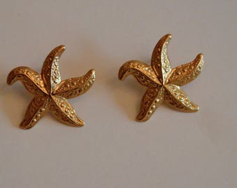 Vintage Starfish earrings