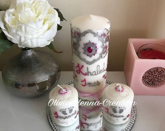 Family 3 Pack candles
