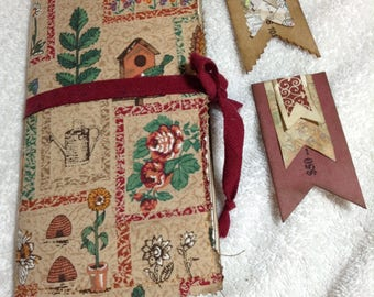 Cloth Covered Travel Journal